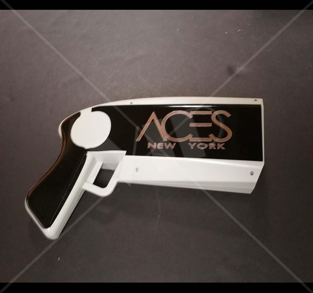 The Money Gun Make It Rain Cash Gun Decal Customized
