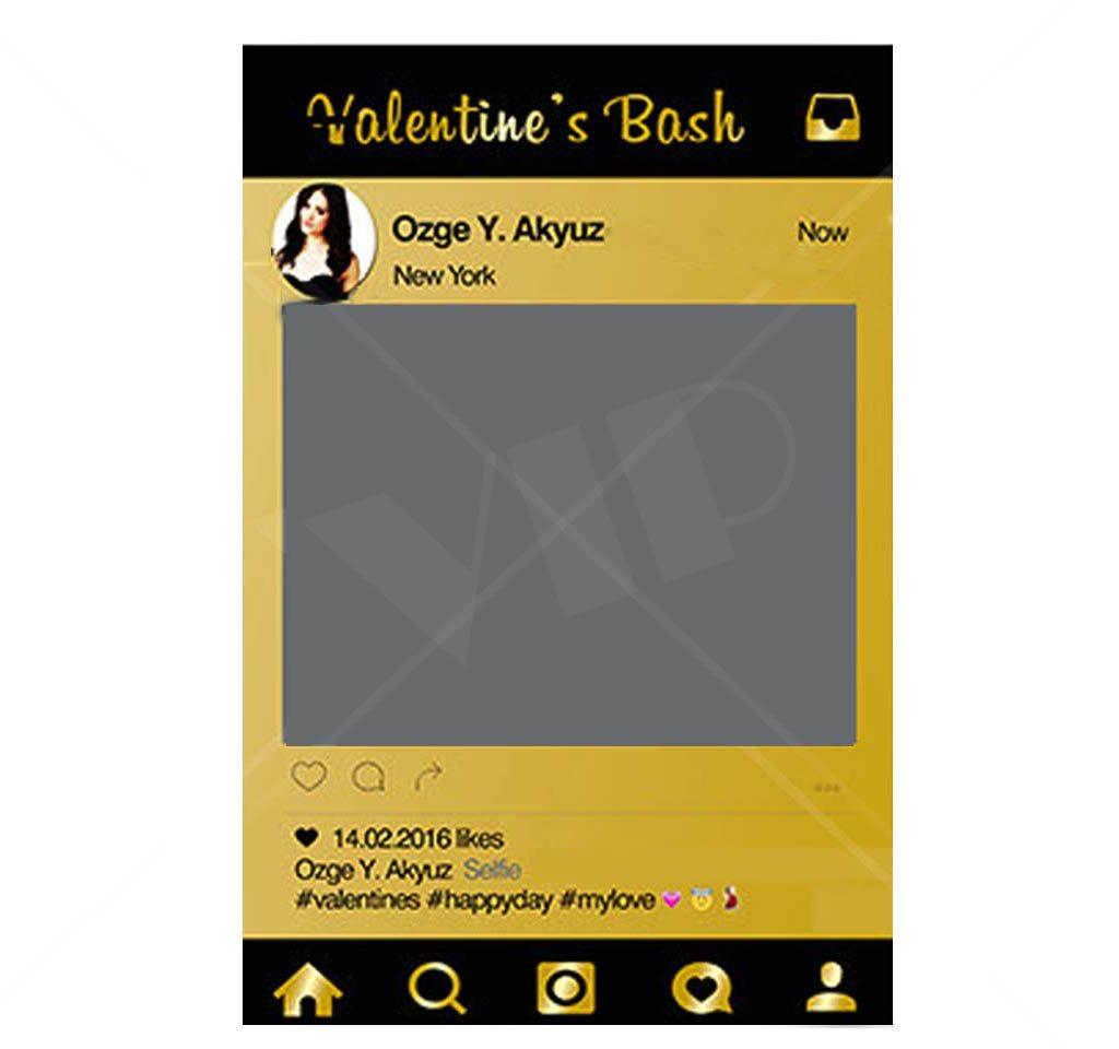 valentines custom board photo board night club supplies. Black Bedroom Furniture Sets. Home Design Ideas