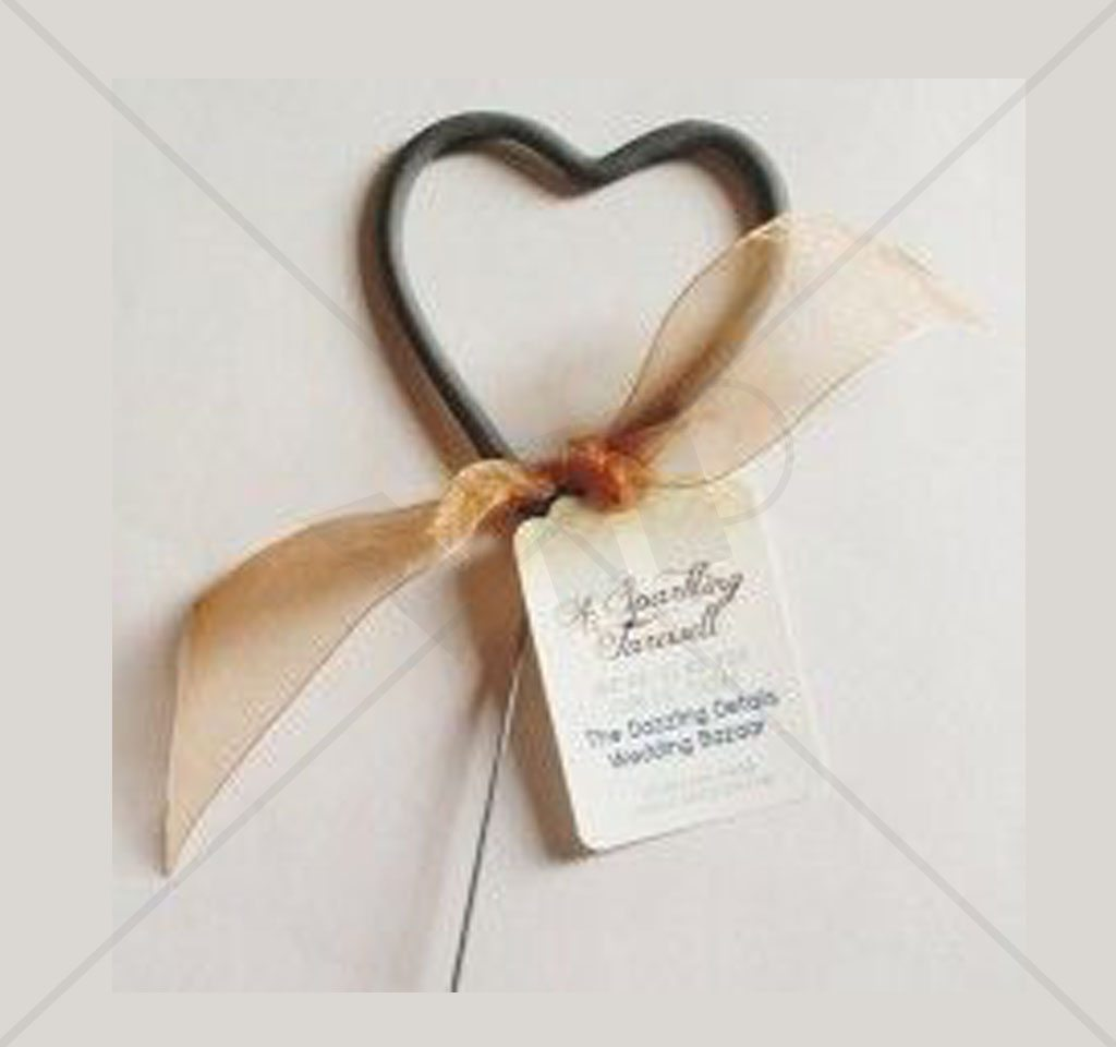 Wedding Heart Sparklers Large | Night Club Supplies