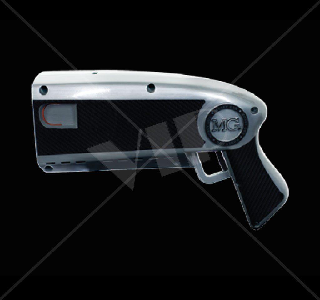 the money gun make it rain cash gun with carbon fiber wrap night club supplies. Black Bedroom Furniture Sets. Home Design Ideas
