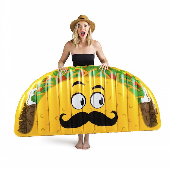 Giant Gigantic Taco Pool Party Inflatable Supplies Float