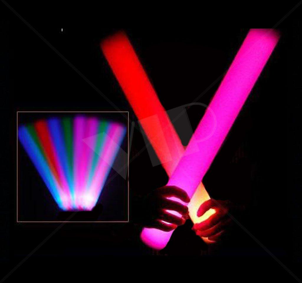 Led Foam Sticks Led Bottle Batons Glow Sticks Light Up