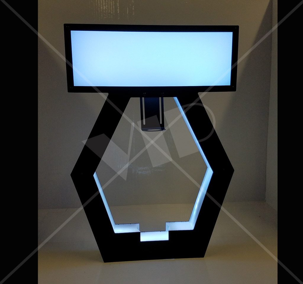 Vip Led Bottle Display Presenter Night Club Supplies