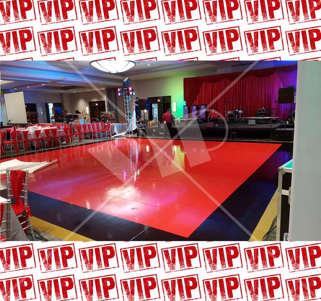 Dance Floor Vinyl Decor Wedding Wrap Custom Night Club