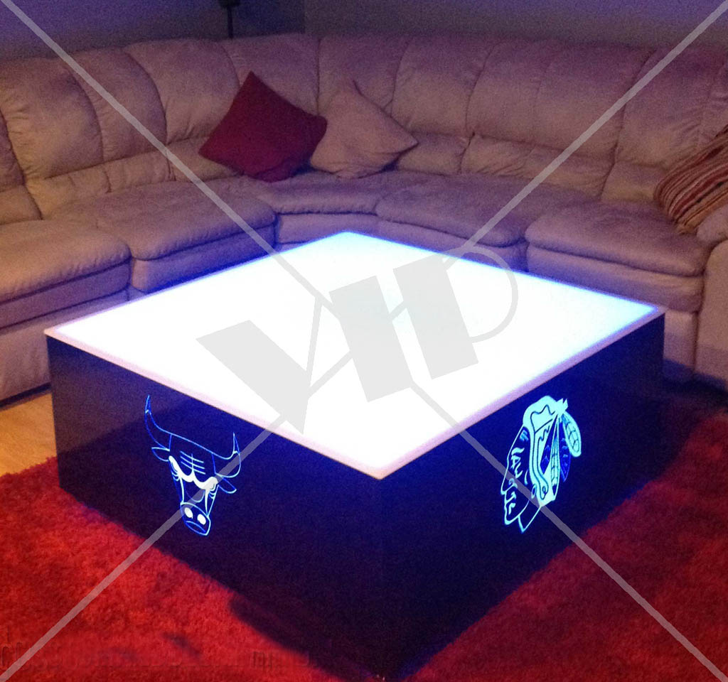 Exceptional LED Lighted Furniture